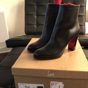 8651f5aaa4e ... greece christian louboutin shoes christian louboutin black adox 85  boots 38.5 d1c38 861a5
